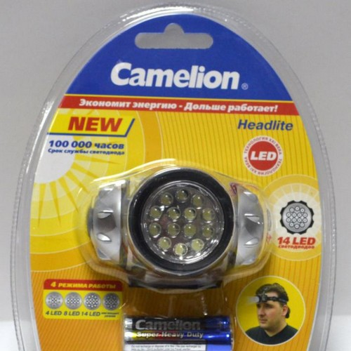 Фонарь  Camelion LED 5312 Headl (шт.)