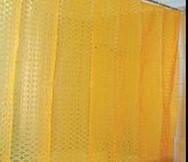 Штора 3D 180х180см. оранжевая д/ванной комнаты (шт.)