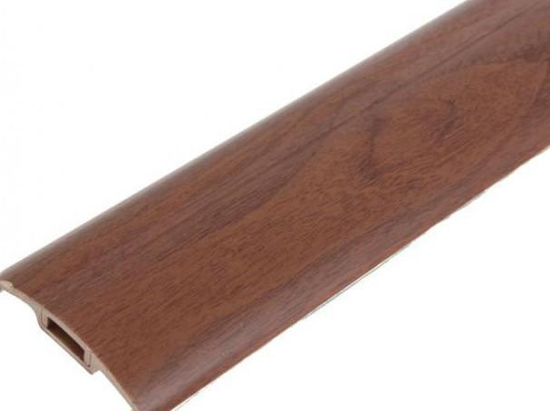 Порог с монтажным каналом (с дюбель-гвоздями) 42мм 0,9м