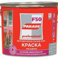 Краска фасадная  PRADE F20 база А бел.мат. 5л (шт.)