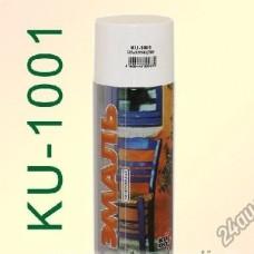 Краска аэрозоль белая глянцевая 520мл. KUDO KU-1001 (шт.)