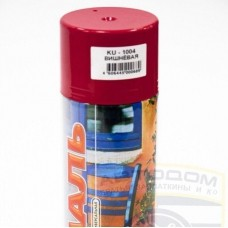 Краска аэрозоль вишневая 520мл. KUDO KU-1004 (шт.)