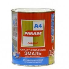 Эмаль PARADE A4 акриловая термо бел. п/мат. 0,9л. (шт.)