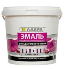 Эмаль акриловая д/радиаторов бел. гл. 2,4кг/Лакра (шт.)