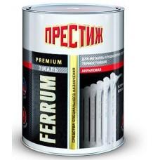 Эмаль акриловая для радиаторов белая 0,5кг./ПРЕСТИЖ (шт.)