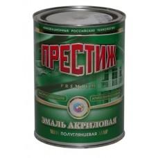 Эмаль акриловая зеленая  яркая /Престиж 0,9кг. (шт.)