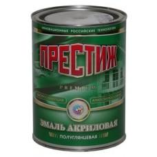 """Эмаль акриловая п/глянц. белая 0,9кг. """"ПРЕСТИЖ"""" (шт.)"""