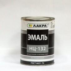 """Эмаль НЦ-132 """"Лакра"""" черный 0,7кг. (шт.)"""