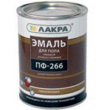 Эмаль ПФ-266 ,(Лакра синтез) кр-коричн 3кг./Л-С (шт.)