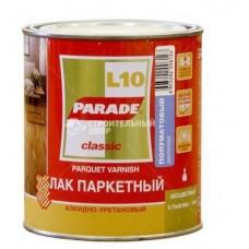 Лак паркетный алкидно-уретан. L10 PARADE гланц. 0,75л. Л-С (шт.)