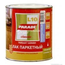 Лак паркетный алкидно-уретан. L10 PARADE глянц. 2,5л. Л-С (шт.)
