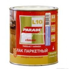 Лак паркетный алкидно-уретан. L10 PARADE мат. 2,5л. Л-С (шт.)
