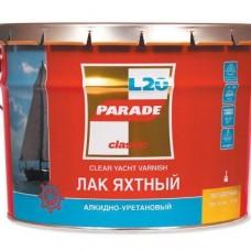 Лак яхтный алкидно-уретановый L 20 PARADE Глянцев. 0,75л (шт.)