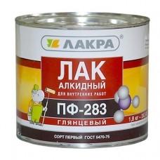Лак ПФ-283 алкидный (Лакра Синтез) 0,8кг. (шт.)