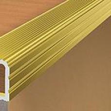 Профиль окантовочный ПК-06-7 золото ЛЮКС 2,5м для плитки толщ. до 7мм (шт.)