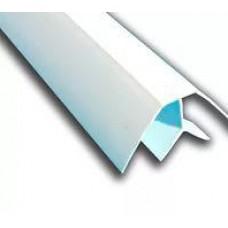 Уголок белый внутренний АА ПВХ 9-10 (шт.)