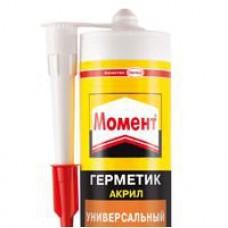 Герметик акриловый МОМЕНТ 420г. морозостойкий (шт.)