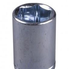 Торцевая головка ЗУБР Мастер 1/2 Cr-V, хроматиров.покр., 13мм (шт.)
