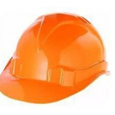 Каска защитная из ударопрочной пластмассы,оранжевая (шт.)