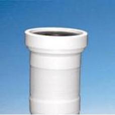 Гофра WC для унитаза McALPINE 230мм WC-F23 R без леп. (шт.)