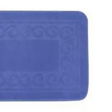 Коврик 100*60 д/ванной (синий) (шт.)