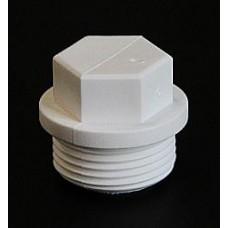 Заглушка резьбовая 3/4 Pro Aqua белый (шт.)