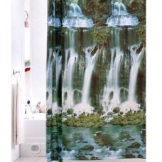 Штора «Водопад» д/ванной комнаты код 925 (шт.)