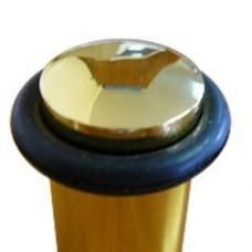 Ограничитель дверной пол/стена с магнитом золото (шт.)