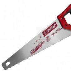 Ножовка Зубр МАСТЕР МОЛНИЯ по дереву,крупн.зуб,двухкомп.ручка,шаг зуба 5мм,450мм (шт.)