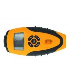 Дальномер ультразвуковой с лазерной указкой и встроен. рулеткой 5мх19мм (шт.)
