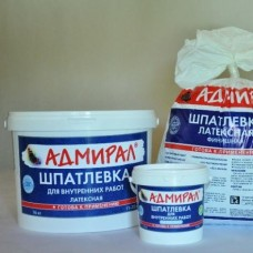 Шпатлевка латексная  /Адмирал 1,5кг. (шт.)
