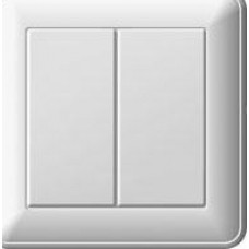 """Выключатель """"Wessen"""" 59 ВС516-252-28 СП 2-кл. белый (шт.)"""