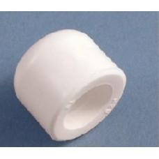 Заглушка ф40 бел. PP-R (шт.)
