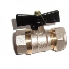Кран/вода 20*1/2F цан-гайка FRAP (шт.)