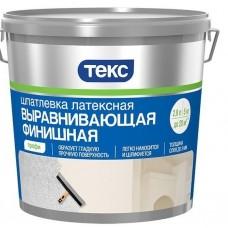 """Шпатлевка латексная  финишная выравн. """"ПРОФИ"""" 8кг. ТЕКС (шт.)"""