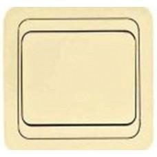 Выключатель 1-кл. СП Мимоза крем./ крем. 25001 (шт.)