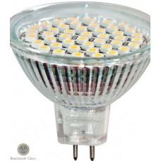 Лампа светодиодная Feron LB-24 MR16 LED44 3W G10 230V 6400K (шт.)