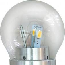 Лампа светодиодная LB-40 12LED 4.5LED E27 4000K малый шар прозрачный (шт.)