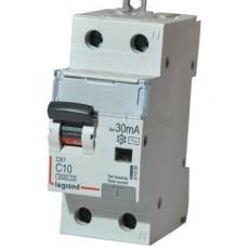 Выключатель авт.диф.тока 1п+N2мод. 16A 30mA тип АС 6/10кА DX3 Leg 4111002 (шт.)
