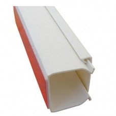Кабель-канал самокл. 16*16мм 2м белый AK TRADE 12543 (шт.)