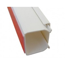 Кабель-канал самокл. 25*25мм 2м белый AK TRADE 12544 (шт.)