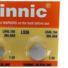 Батарейка 936 VINNIC G9 бл/10 (шт.)
