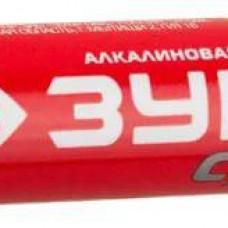"Батарейка ЗУБР ""СУПЕР"" щелочная (алкалинов.) тип АА, 1,5В (59213-2С) (шт.)"