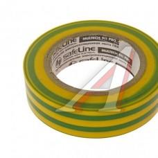 Изолента ПВХ 15х10 желт.-зел. (шт.)