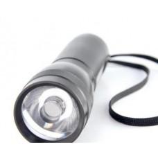 Фонарь Яркий луч LUX 1W алюмин.корпус светодиод 1W, на 3хААА (шт.)