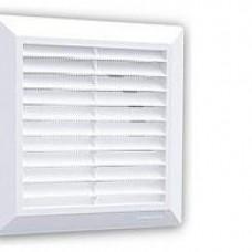 Решетка вентиляционная HARDI 14х14 наклонные жалюзи с сеткой FLAT 00605 (шт.)