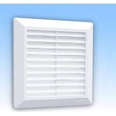 Решетка вентиляционная HARDI 15х15 с сеткой  FLAT 07201 (шт.)