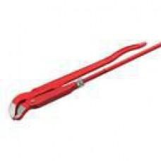 Ключ трубный рычажный ЗУБР, прям.губки,цельноков., Cr-V № 1, 1 (шт.)