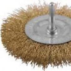 Корщетка дисковая прямая, для дрели со шпилькой 75мм (шт.)