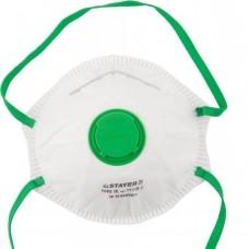 Полумаска фильтрующ. Стаер ПРОФИ противоаэрозол. с клапаном, многосл., класс защиты (11110) (шт.)
